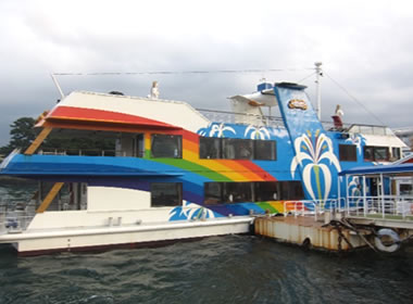 鳥羽湾内めぐり観光遊覧船